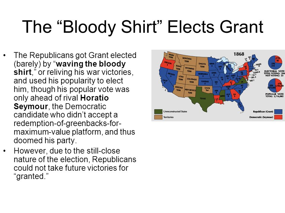 The Bloody Shirt Elects Grant