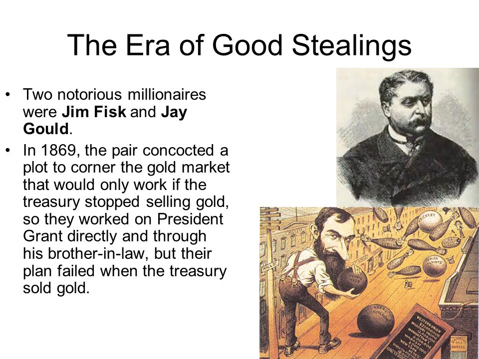 The Era of Good Stealings
