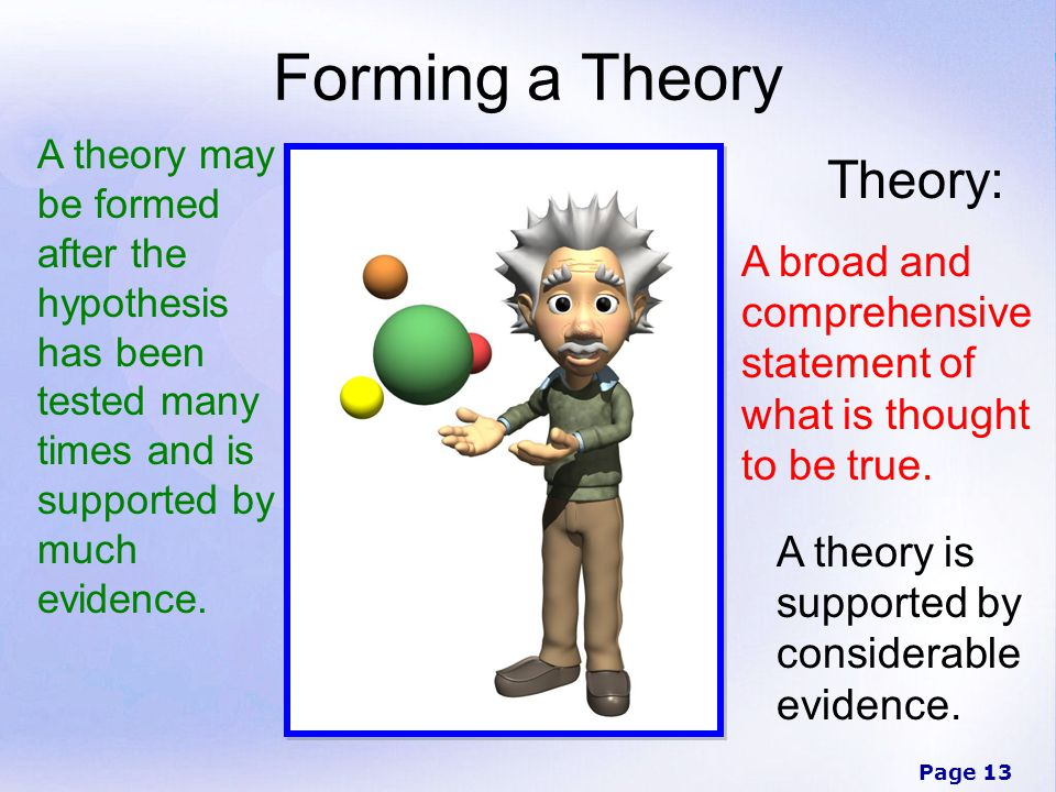 Forming a Theory Theory: