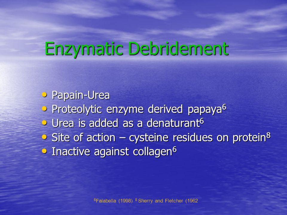 Enzymatic Debridement