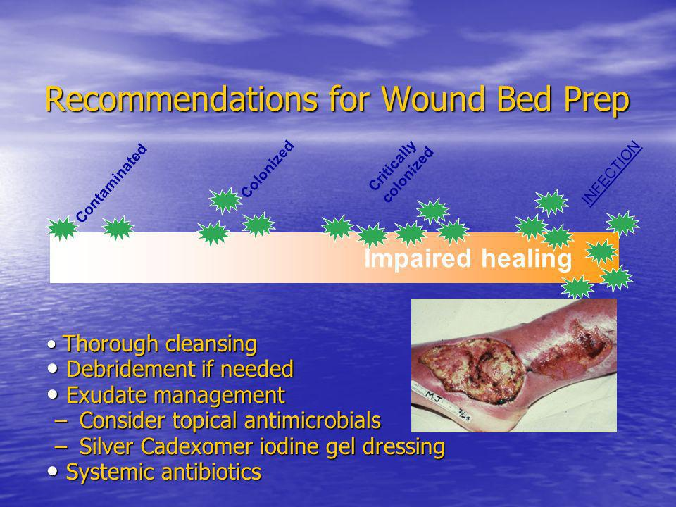 Recommendations for Wound Bed Prep