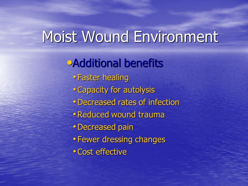Moist Wound Environment