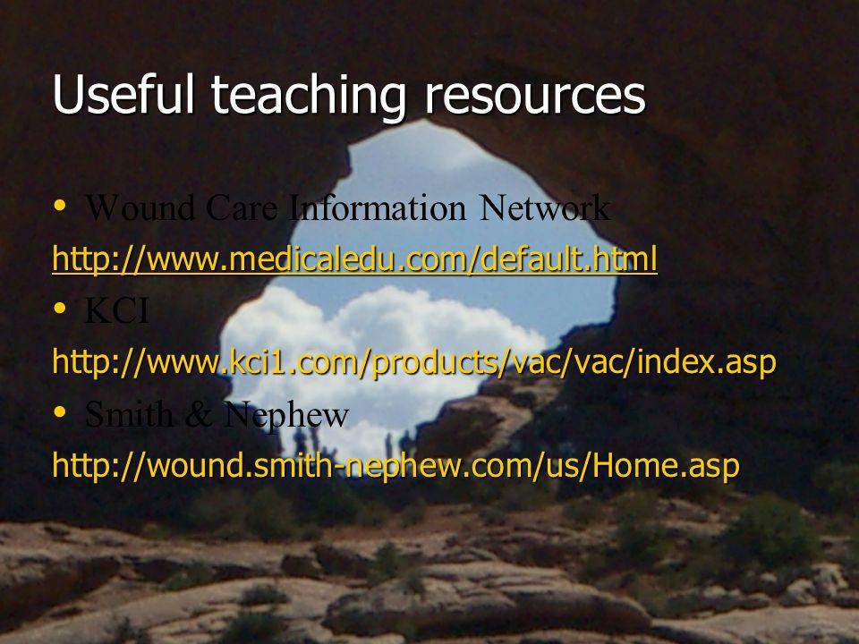 Useful teaching resources