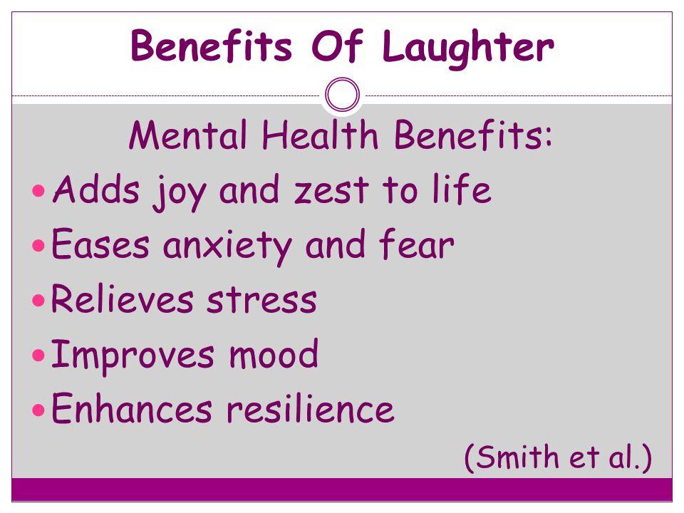 Mental Health Benefits:
