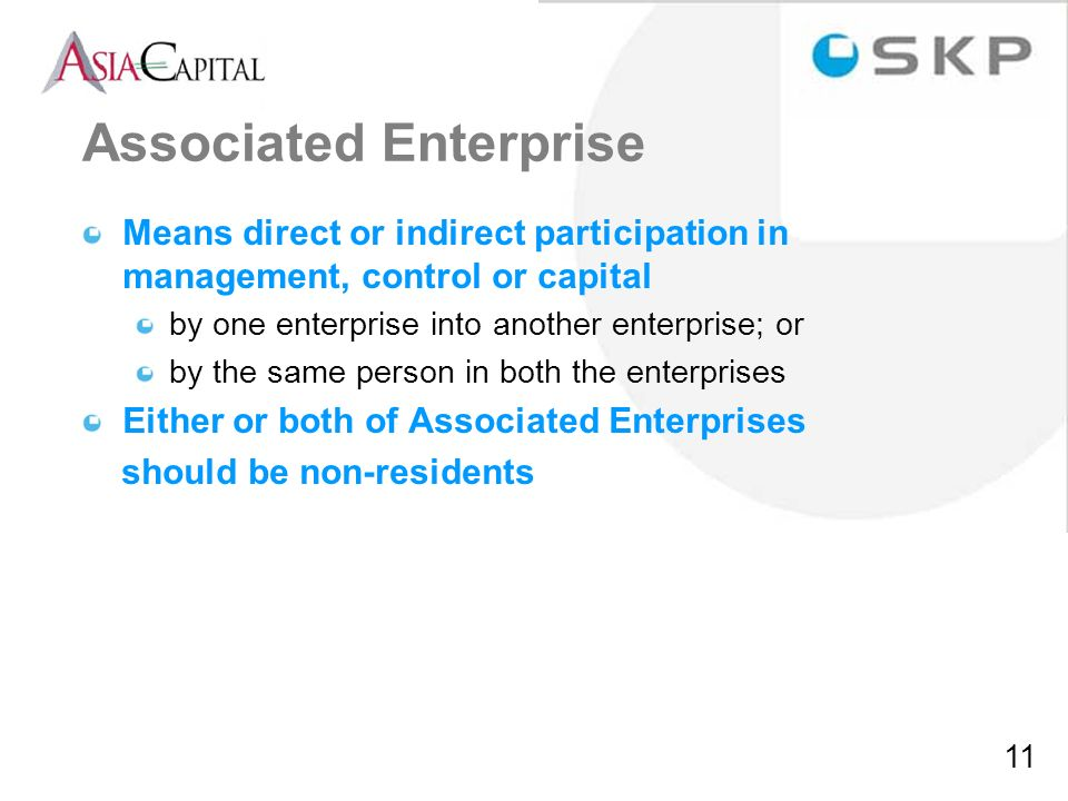 Associated Enterprise