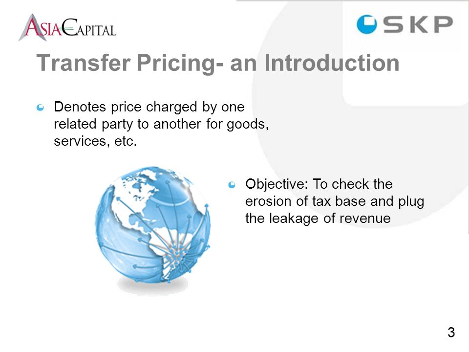 Transfer Pricing- an Introduction