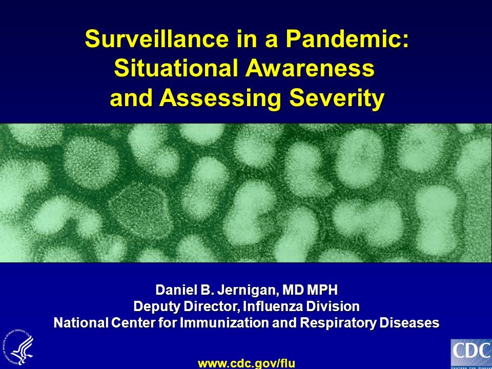 Surveillance in a Pandemic: Situational Awareness