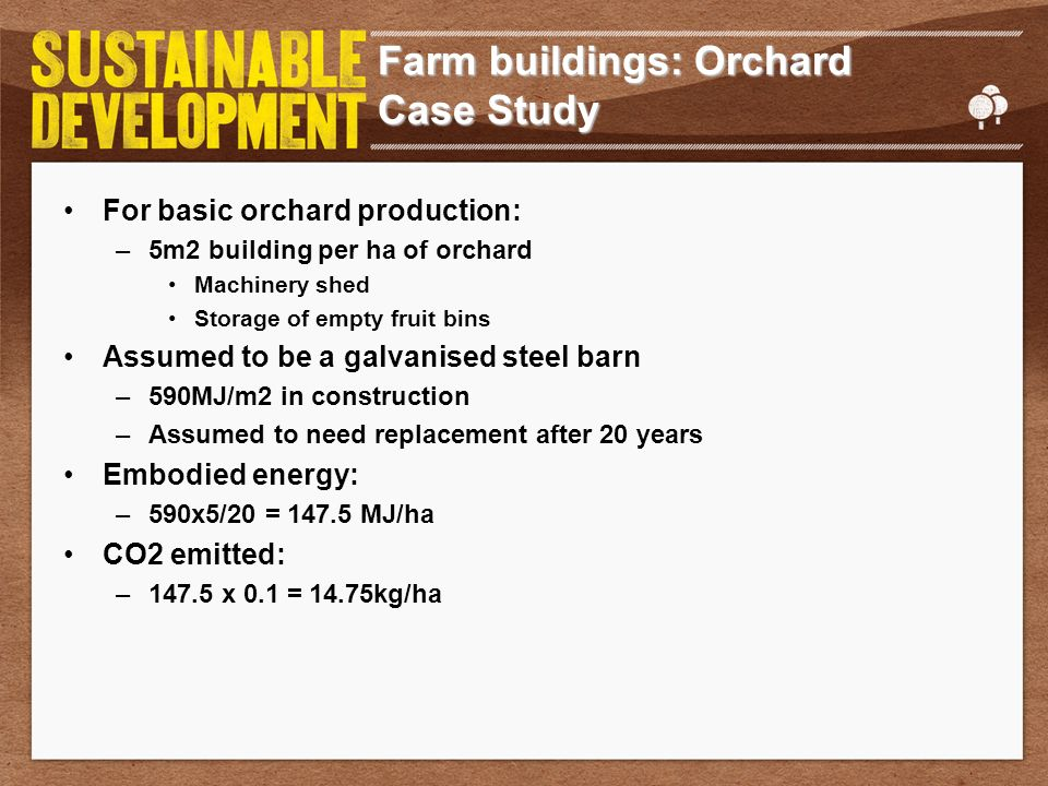 Farm buildings: Orchard Case Study