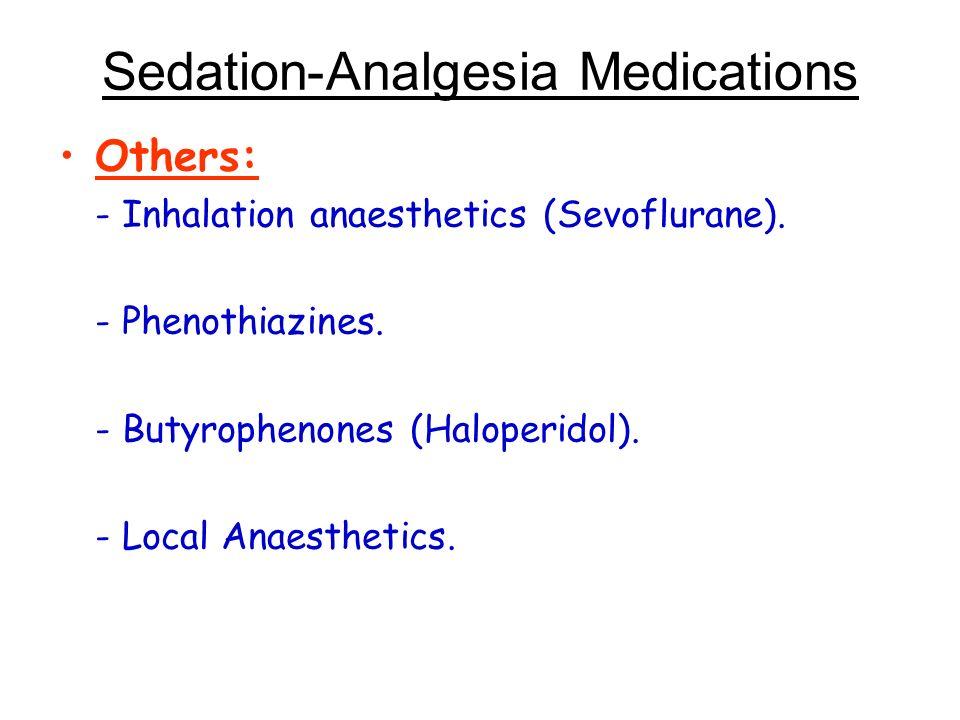 Sedation-Analgesia Medications