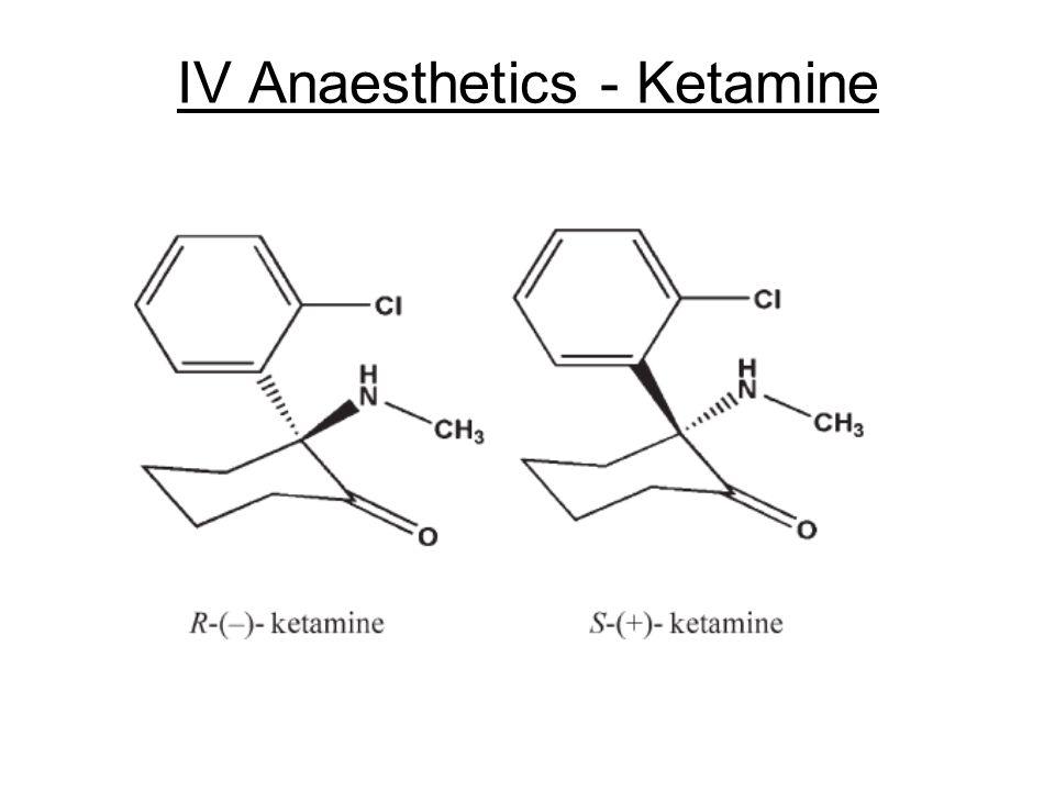 IV Anaesthetics - Ketamine