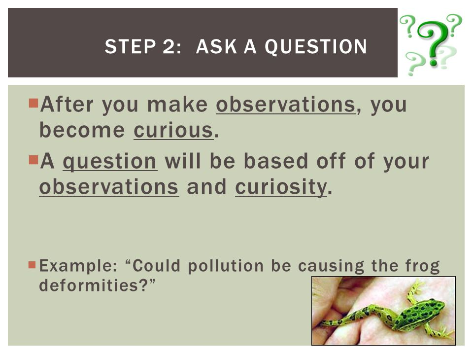 Write a hypothesis based on the students observations of a burning