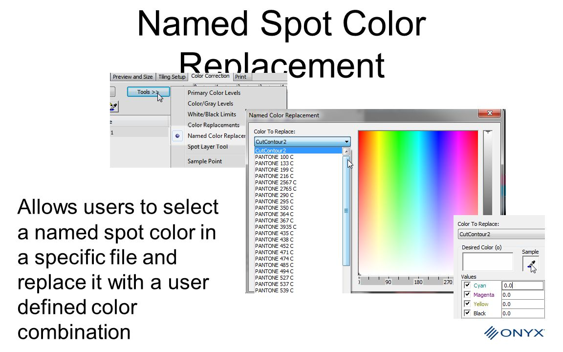 Named Spot Color Replacement