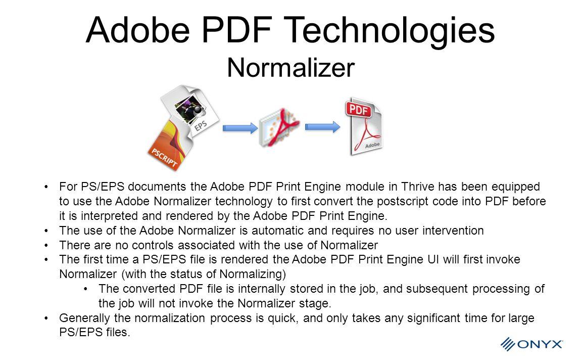 Adobe PDF Technologies Normalizer
