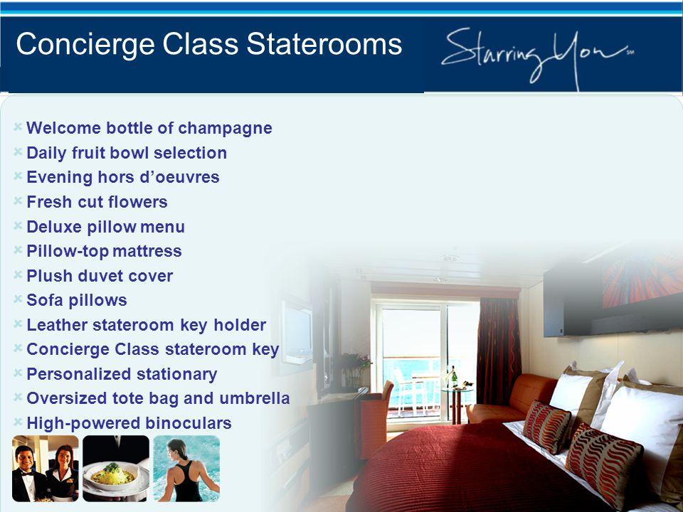 Concierge Class Staterooms