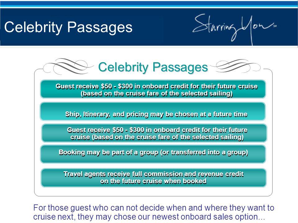 Celebrity Passages Celebrity Passages