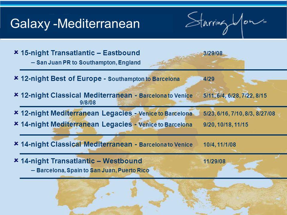 Galaxy -Mediterranean