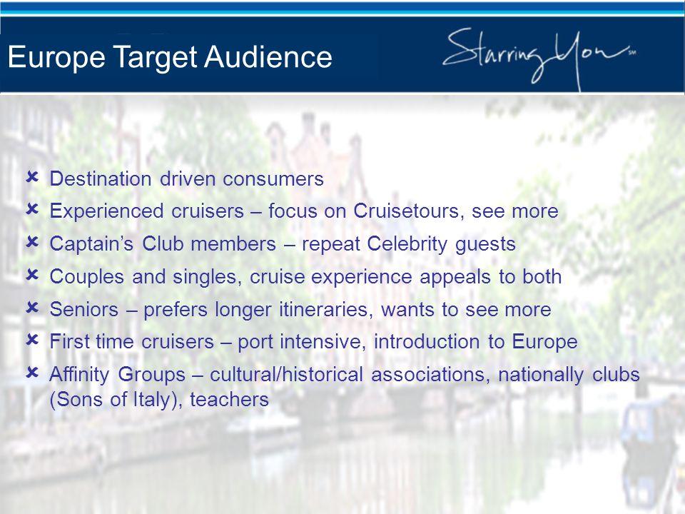 Europe Target Audience