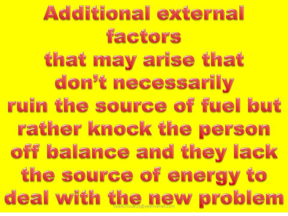 Additional external factors