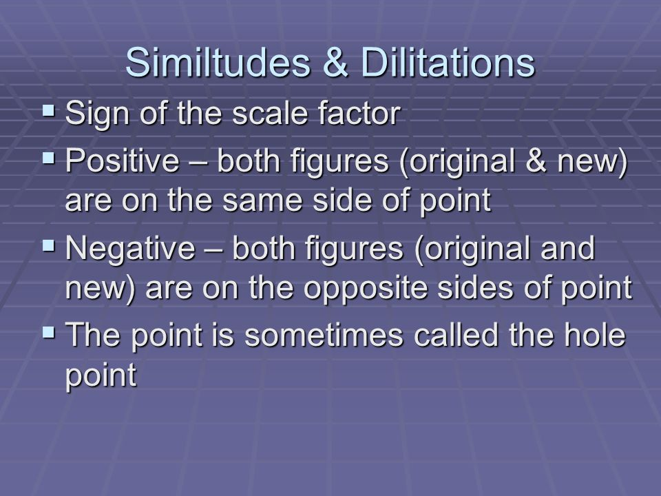 Similtudes & Dilitations