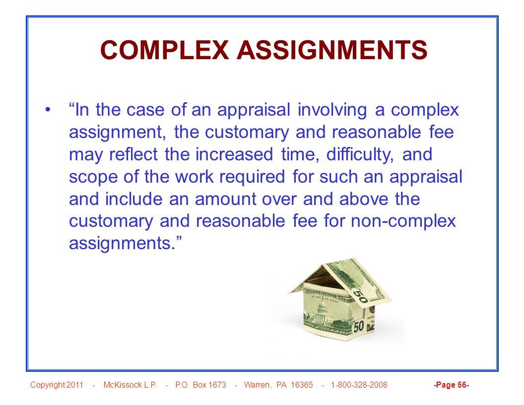 COMPLEX ASSIGNMENTS