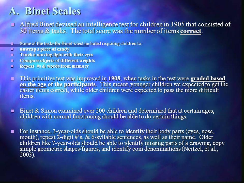 A. Binet Scales