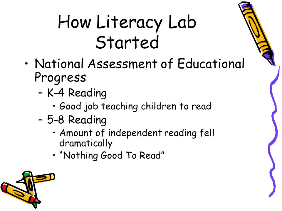 How Literacy Lab Started