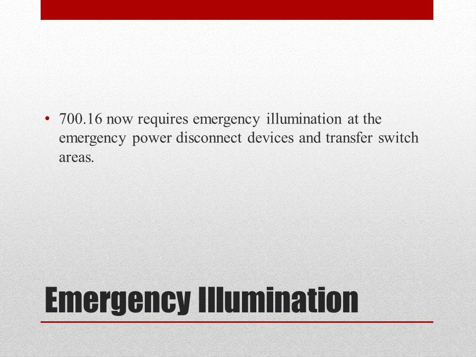 Emergency Illumination
