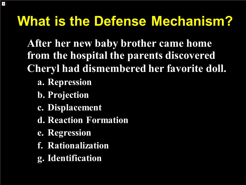 What is the Defense Mechanism