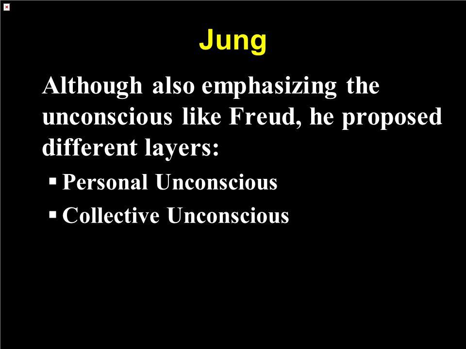 Jung Personal Unconscious Collective Unconscious