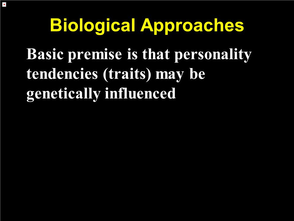 Biological Approaches