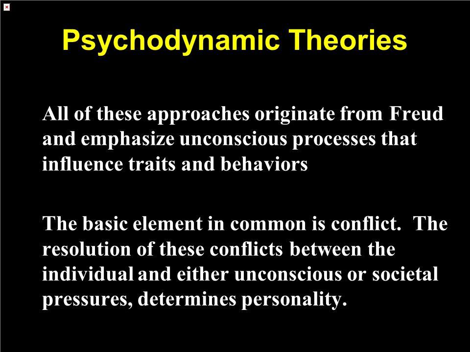 Psychodynamic Theories