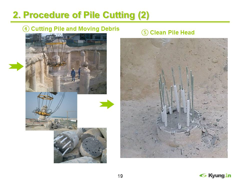 2. Procedure of Pile Cutting (2)