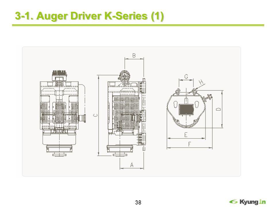 3-1. Auger Driver K-Series (1)