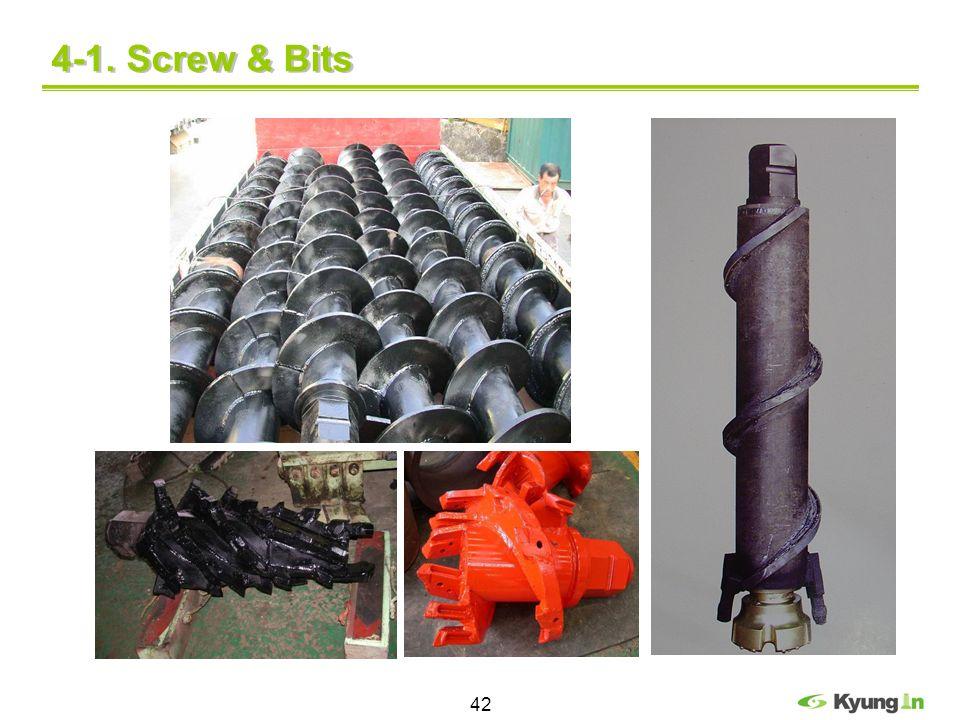4-1. Screw & Bits