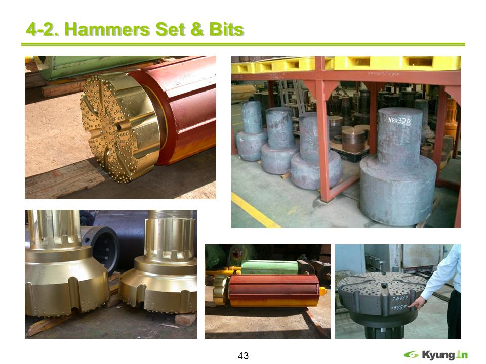 4-2. Hammers Set & Bits