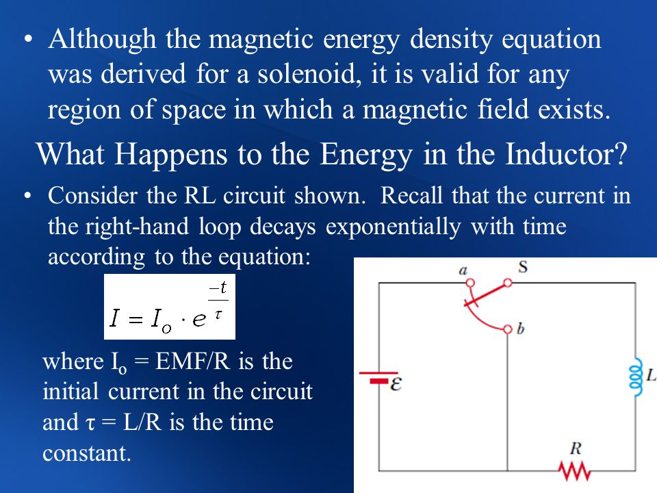 What Happens to the Energy in the Inductor