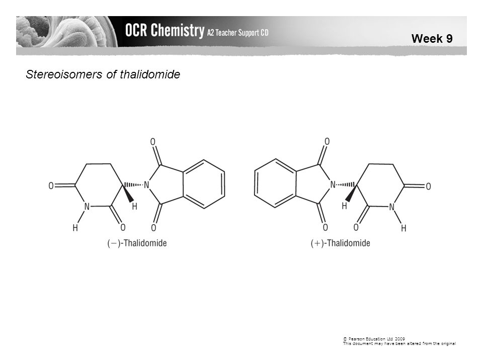 Stereoisomers of thalidomide