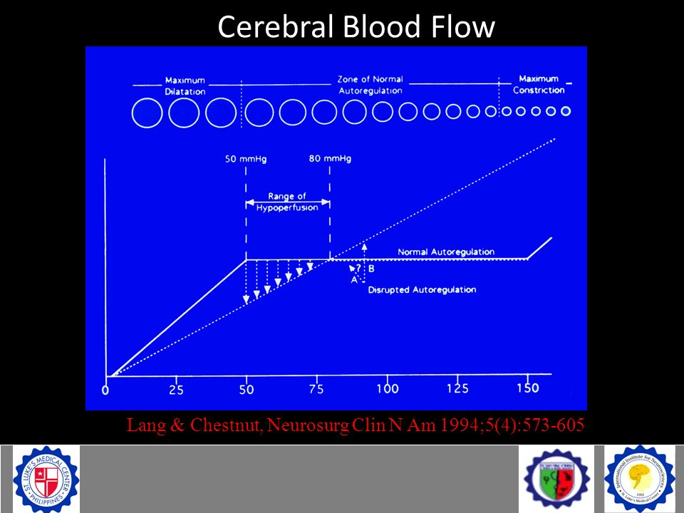 Cerebral Blood Flow Lang & Chestnut, Neurosurg Clin N Am 1994;5(4):