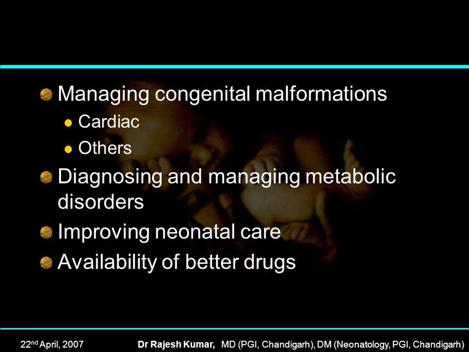 Managing congenital malformations