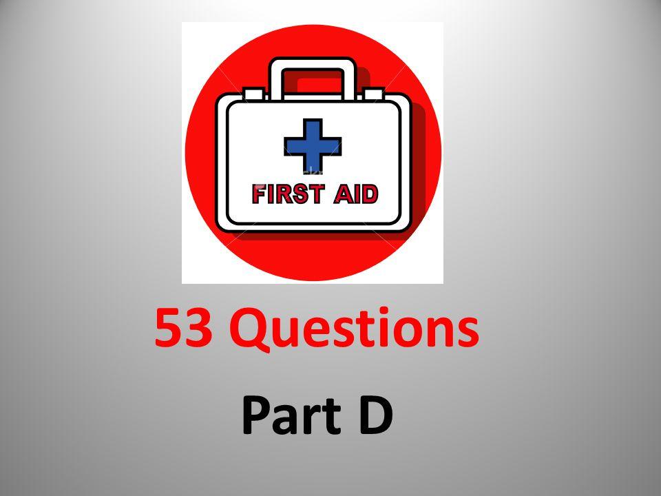 53 Questions Part D
