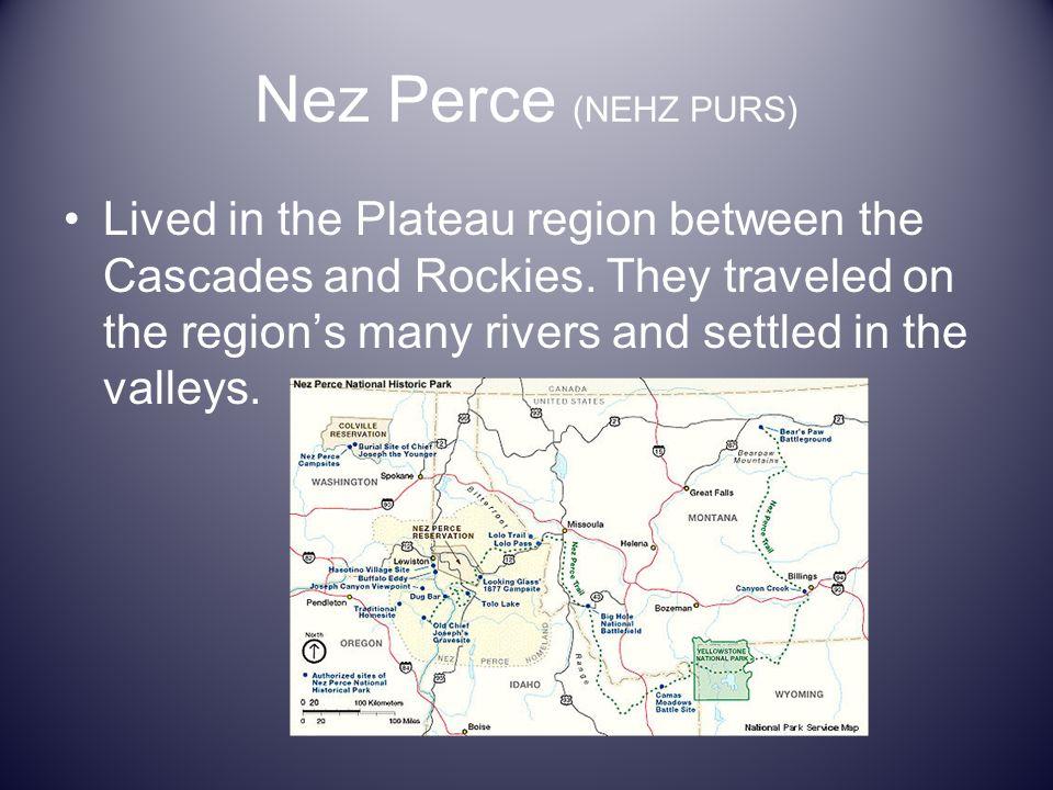 Nez Perce (NEHZ PURS)