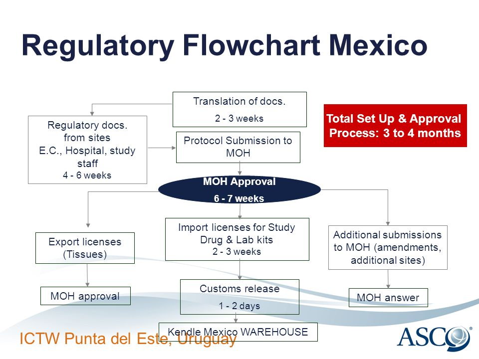 Regulatory Flowchart Mexico