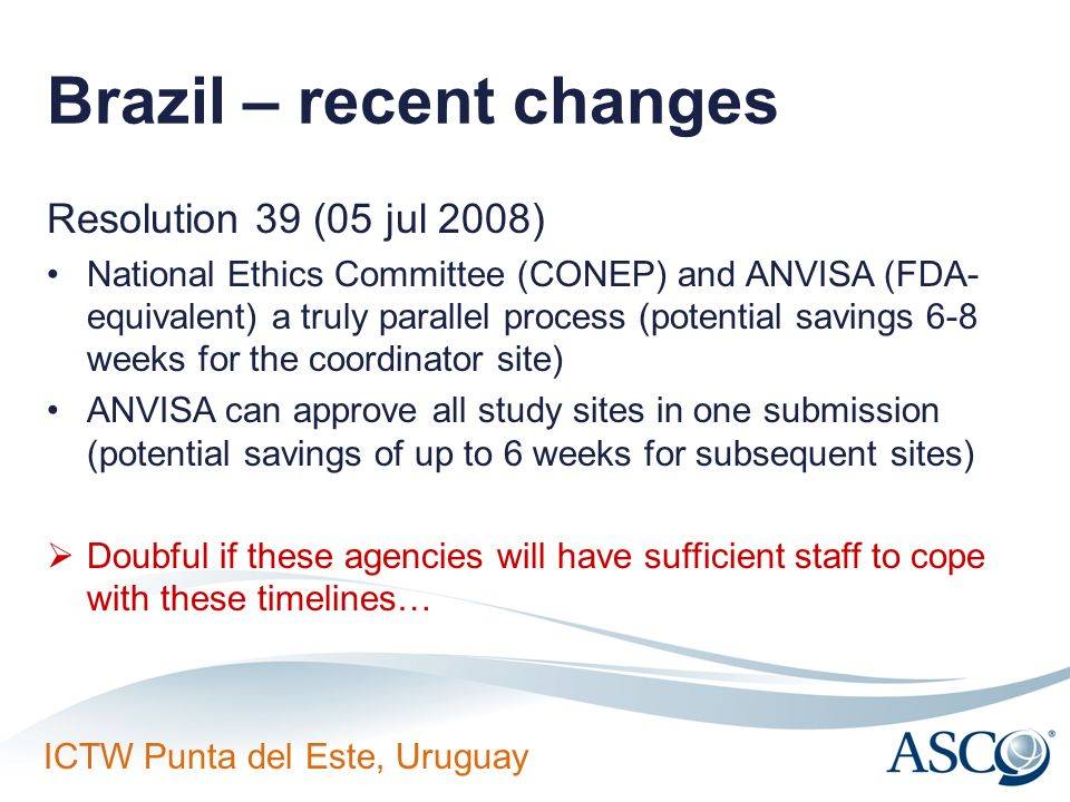 Brazil – recent changes