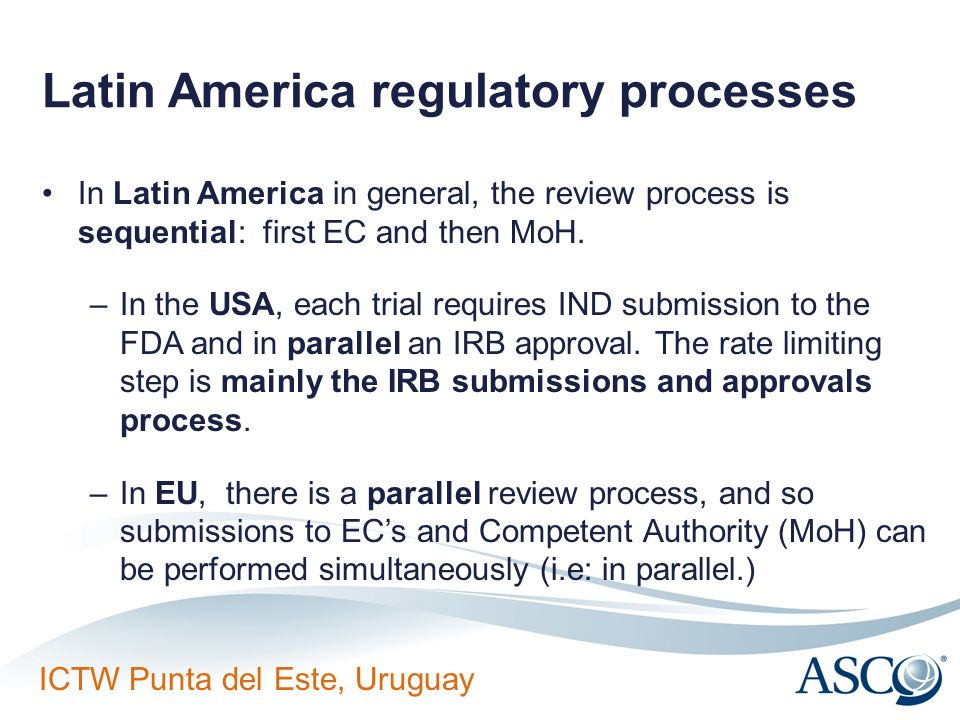 Latin America regulatory processes