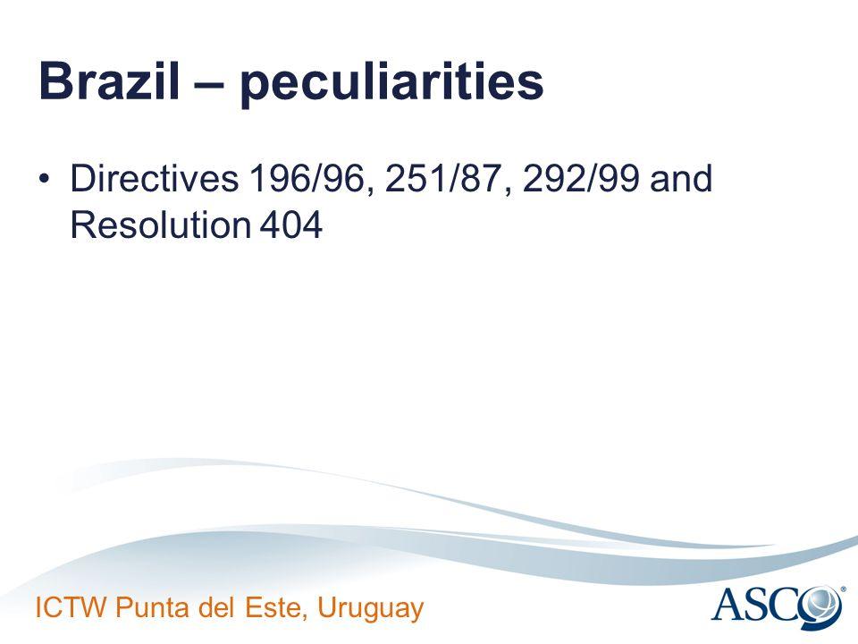 Brazil – peculiarities