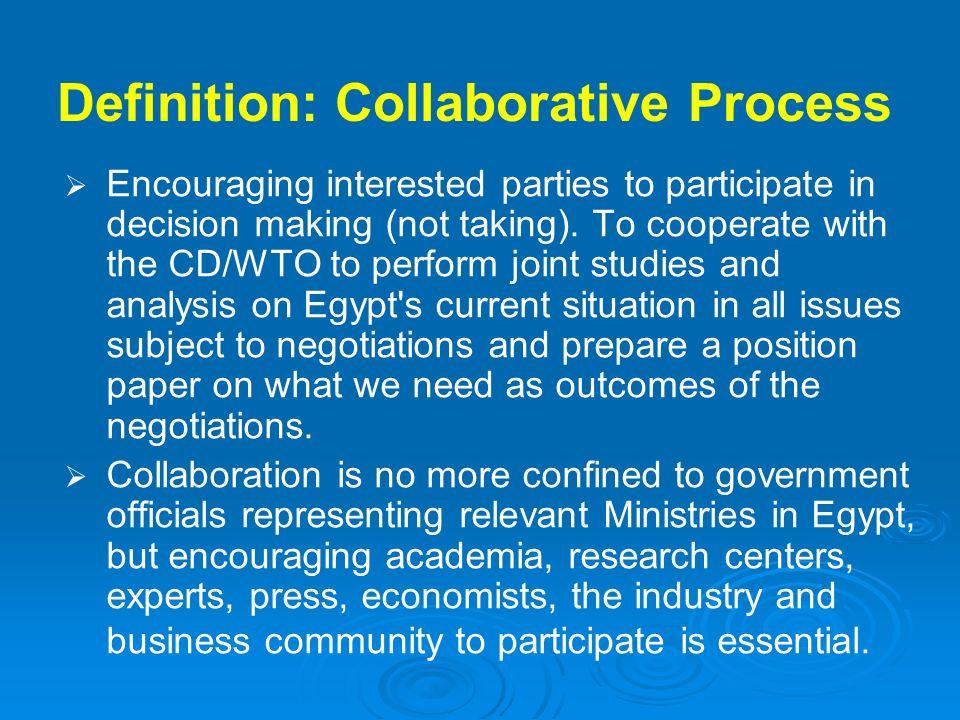 Definition: Collaborative Process