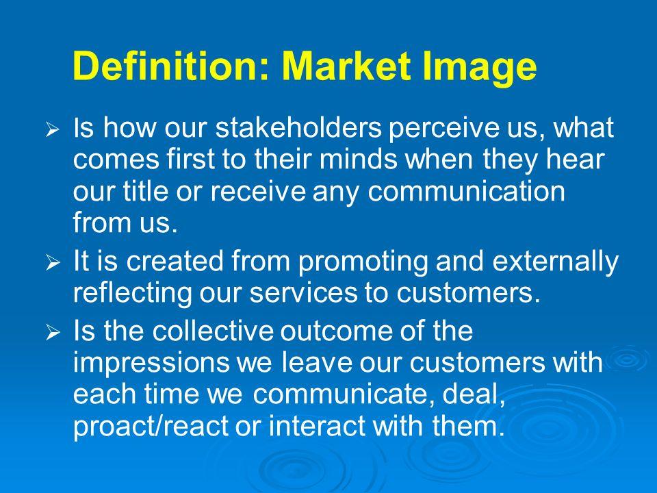 Definition: Market Image