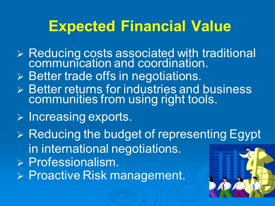 Expected Financial Value