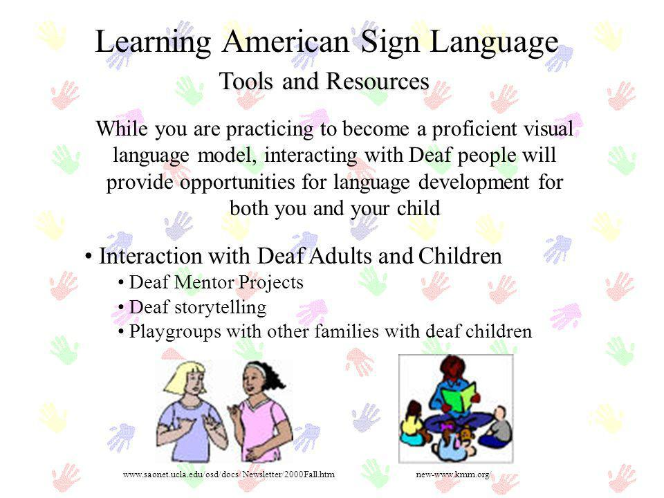 Learning American Sign Language