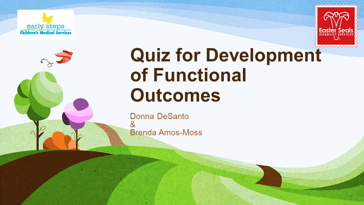 Quiz for Development of Functional Outcomes